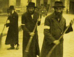 Żydzi w czasie pracy przymusowej