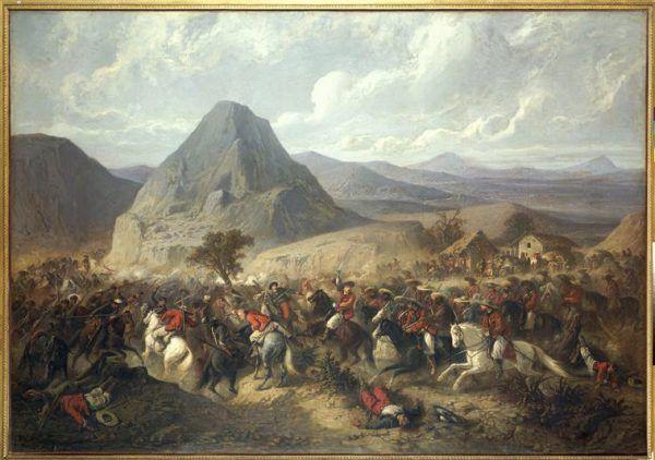 Na bitwę pod Hierba-Buena (8 czerwca 1865) Sobieski z pewnością nie zdążył