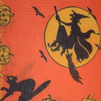 Czarownica i czarny kot. Dzisiaj to symbole Halloween, ale kiedyś oskarżenie o taką kombinację groziło stosem, zarówno podejrzanej kobiecie, jak również jej pupilowi (fot. Dave; lic. CC ASA 3.0).