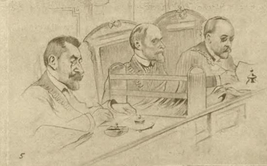 Sędziowie, którzy orzekali w sprawie barona Jana Bispinga. Czyżby za ich decyzją stała carska Ochrana?