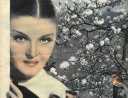 """Przedwojenna ekoterrorystka! (okładka """"Światowida"""" z marca 1935 roku)."""