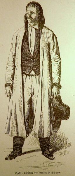 Jakub Szela na drzeworycie z 1848 roku.