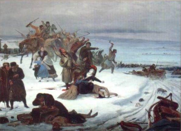 """Galicyjscy chłopi marzyli o wolności i własnym gospodarstwie. Po latach pańszczyźnianego zniewolenia pragnęli odebrać """"Panom"""" swoją własność"""