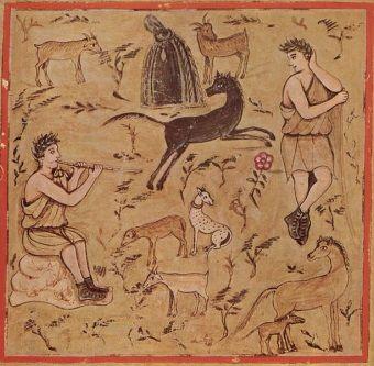 Niewolnik pracujący jako pasterz mógł przynajmniej uciec na moment przed wzrokiem nadzorcy... Ale to nie wystarczało do napełnienia burczącego żołądka.