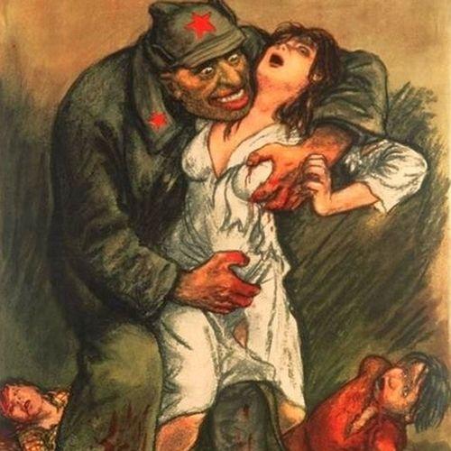 Czerwonoarmiści Niemieckie Kobiety Są Wasze Sowieckie