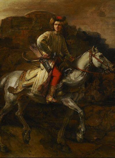 Lisowczyk na obrazie Rembrandta (źródło: domena publiczna).
