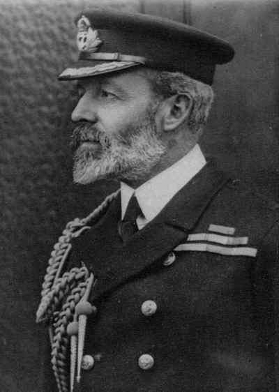 Dowódca Eskadry Zachodnich Indii kontradmirał Christopher Cradock (źródło: domena publiczna).