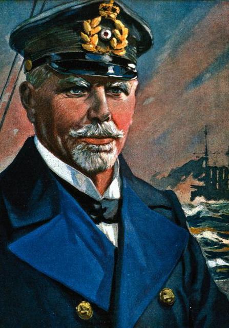 Dowódca Eskadry Wschodnioazjatyckiej wiceadmirał graf Maximilian von Spee (źródło: domena publiczna).