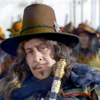 """Leon Niemczyk jako Karol Gustaw w """"Potopie""""..."""