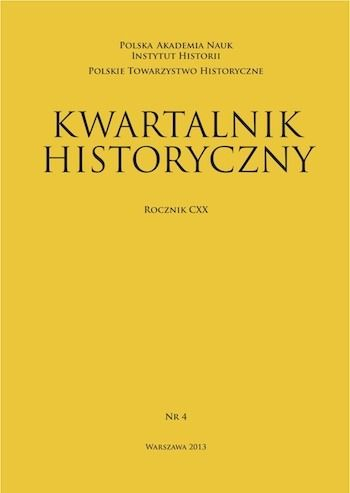 """Materiał powstał w oparciu o artykuł z """"Kwartalnika historycznego""""."""