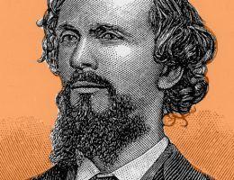 Karl Heinrich Ulrichs - człowiek uważany za pierwszego geja nowoczesnej Europy.
