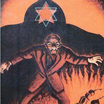Polski plakat antybolszewicki z okresu wojny 1920 roku.