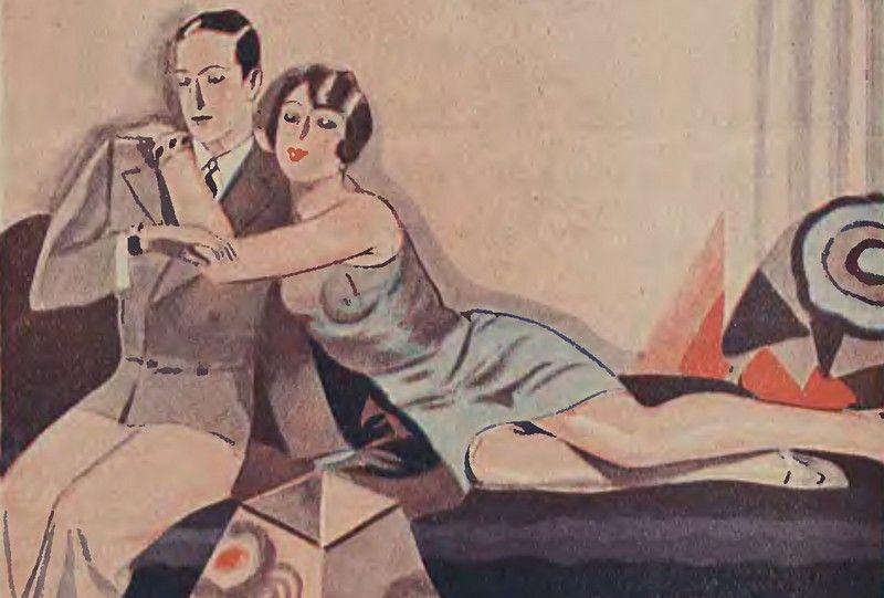 Przeciwko wspólnym łożom małżeńskim wypowiadali się nawet konserwatyści, Tylko ich argumentacja opierała się na tym, że Bali się, że mężowi i żonie, którzy ciągle przebywają obok siebie… mogą puścić hamulce (źródło: domena publiczna).