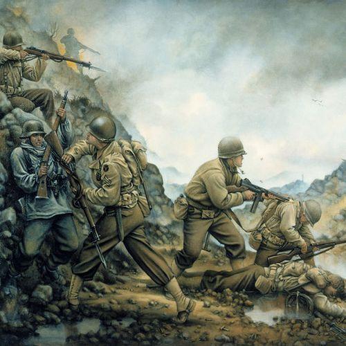 Konkurs: Najlepsza książka o II wojnie światowej minionej dekady (rysunek: Donna Neary; lic. domena publiczna).