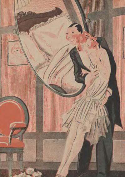 Nowoczesne międzywojenne małżeństwo miało opierać się  na ciągłym uroku odkrywania intymności. A wspólna sypialnia kompletnie to uniemożliwiała (źródło: domena publiczna).