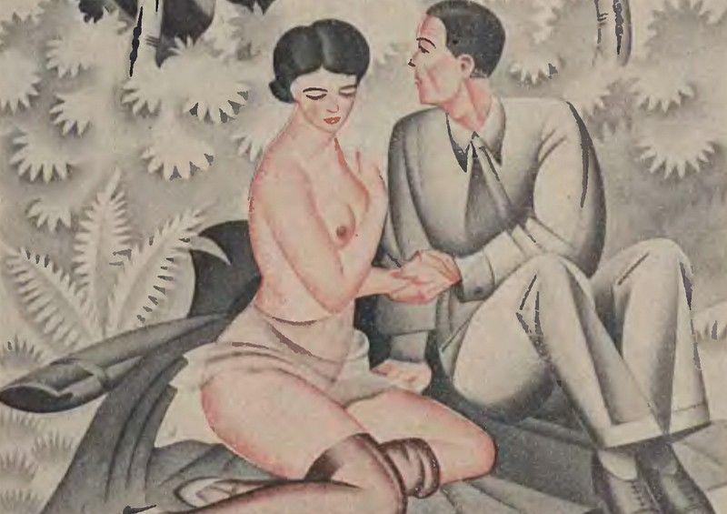Według Williama Martina dobrym  sposobem na problemy z przedwczesnym wytryskiem miało być częstsze niż rzadsze uprawianie seksu, a w razie nieudanego stosunku jego powtórzenie (źródło: domena publiczna).