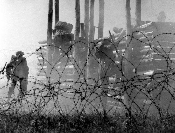 Podczas treningu kładziono szczególny nacisk na wyrobienie tężyzny fizycznej oraz zgranie się żołnierzy.
