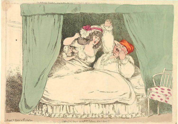 Według ankiety przeprowadzonej w Warszawie u schyłku XIX wieku dla zaledwie 19% kobiet życie płciowe było choć trochę satysfakcjonujące (źródło: domena publiczna).