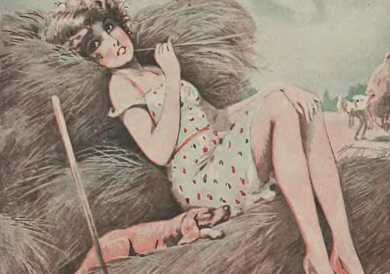 William Martin twierdził, że szyja kobiety grubieje po defloracji (źródło: domena publiczna).