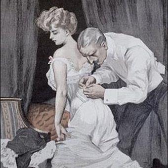 Czy w XIX wieku kobiety czerpały przyjemność z seksu małżeńskiego? (źródło: domena publiczna).