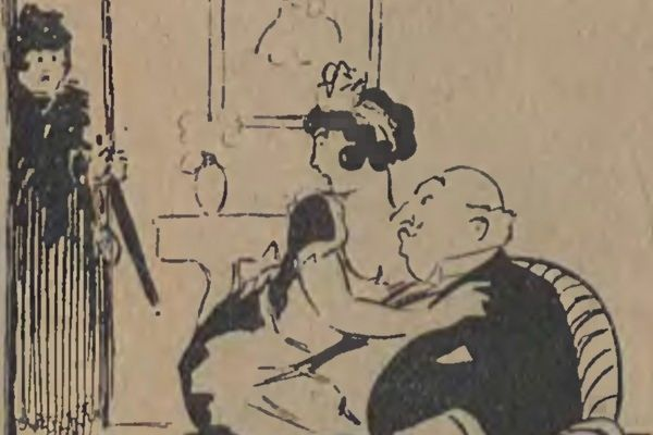 W XIX wieku wierność mężów uznawano za rodzaj zwyrodnienia i grzechu przeciwko naturze. Nikogo zatem nie dziwiły, ani specjalnie nie gorszyły kochanki (źródło: domena publiczna).