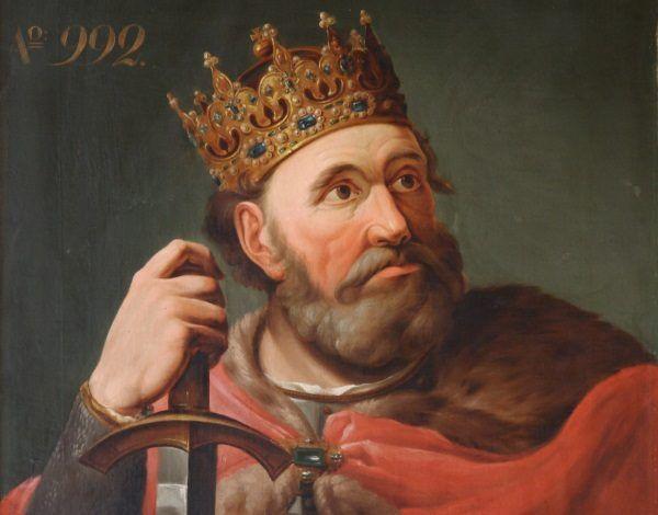 Bolesław Chrobry. Nie miał litości wobec wrogów... i wobec swoich żon (domena publiczna).