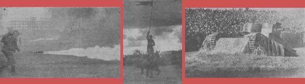 """Defilada 1938 roku na zdjęciach """"Orędownika""""."""