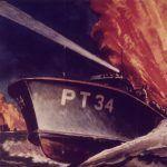 Kuter PT na plakacie propagandowym (domena publiczna).