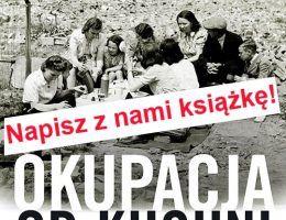 """""""Okupacja od kuchni"""" autorstwa Aleksandry Zaprutko Janickiej ukaże się jesienią 2015 roku."""
