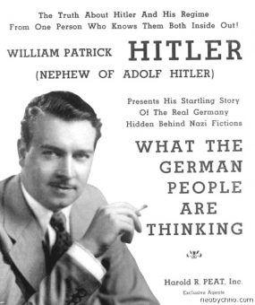 Zanim został w końcu żołnierzem, młody Hitler wygłosił w Stanach cykl wykładów na temat swojego wuja.