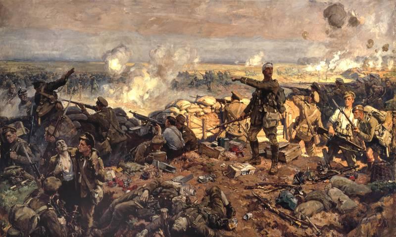 W czasie Wielkiej Wojny Brytyjczycy podejrzewali Niemców o wykorzystywanie kotów do przenoszenia tajnych informacji. Na ilustracji bitwa pod Ypres (źródło: domena publiczna).
