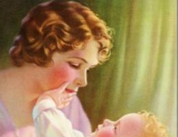 Czy to dobra matka, czy może (nie)świadoma pedofilka? (źródło: domena publiczna).