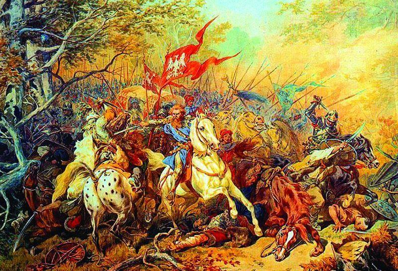 W tym przypadku Polacy nie byli tak dzielni jak legendarny wybawca króla Olbrachta, Jan Fredro. Na ilustracji obraz Juliusza Kossaka (źródło: domena publiczna).