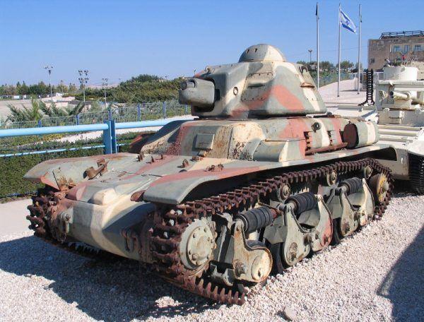 Takie czołgi otrzymała 10 Brygada Kawalerii Pancernej gen. Maczka (fot. Bukvoed, CC BY-SA 3.0).
