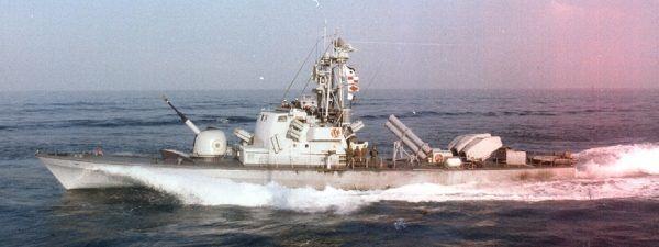 Kuter rakietowy Saar 3. Skuteczna odpowiedź na arabskie zagrożenie (fot. domena publiczna).