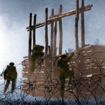 Żołnierze Samodzielnej Brygady Spadochronowej podczas treningu (źródło: domena publiczna).