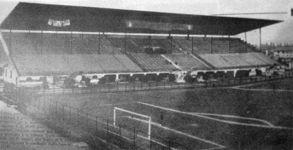 San Siro w 1934 roku, miejsce największej porażki Wunderteamu.