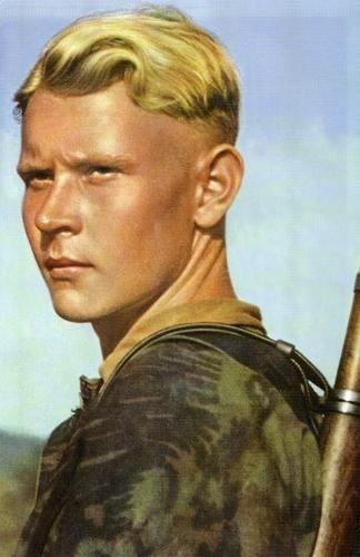 """Na tę misję nie można było wysłać """"typowego"""" żołnierza niemieckich sił zbrojnych... (fot. domena publiczna)."""