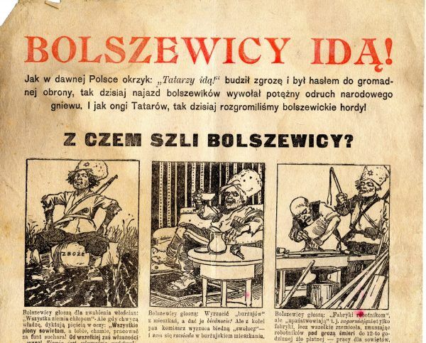 Z czym szli bolszewicy? (il. domena publiczna).