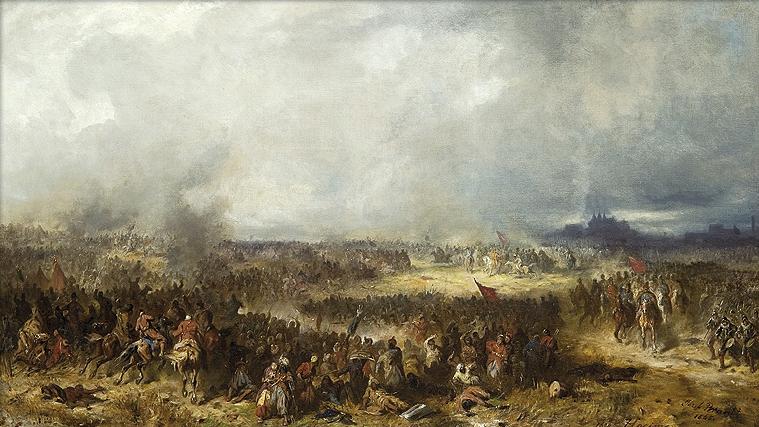 Wielkim zwycięstwem nad Turkami Polacy mogli pochwalić się jednak dopiero po bitwie chocimskiej 1621 roku (źródło: domena publiczna).