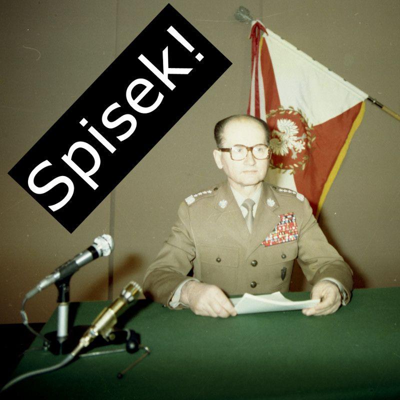 Gen. Jaruzelski – odsunięty od dowodzenia, czy jeden z liderów spisku? (fot. Archiwum Dokumentacji Mechanicznej, Wojskowa Agencja Fotograficzna, domena publiczna).