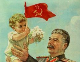Dzieci naprawdę miały za co dziękować wujkowi Stalinowi... (fot. domena publiczna).