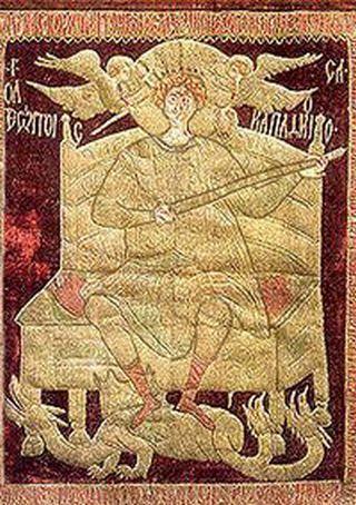 Proporzec bitewny sprytnego Stefana Wielkiego (źródło: domena publiczna).