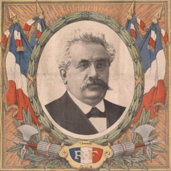 Alexandre Millerand, twardo przeciwstawiał się dążeniom brytyjskiego premiera do nawiązania negocjacji z bolszewikami (źródło: domena publiczna).