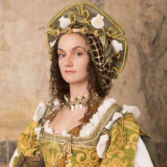 Anna Knybel jako Bona Sforza.
