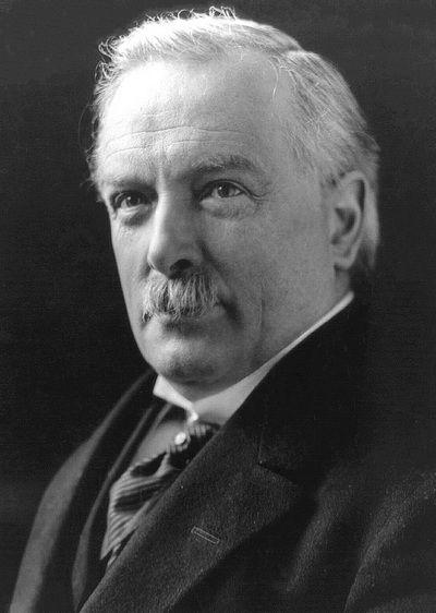 David Lloyd George w sierpniu 1920 r. był pewien, że los Polski jest już przesądzony (źródło: domena publiczna).