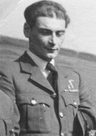 Ppor. Bolesława Drobiński, który był dosłownie o krok od zestrzelania Gallanda (źródło: domena publiczna).