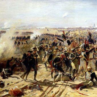 Bitwa pod Essling na obrazie Fernanda Cormona (źródło: domena publiczna).