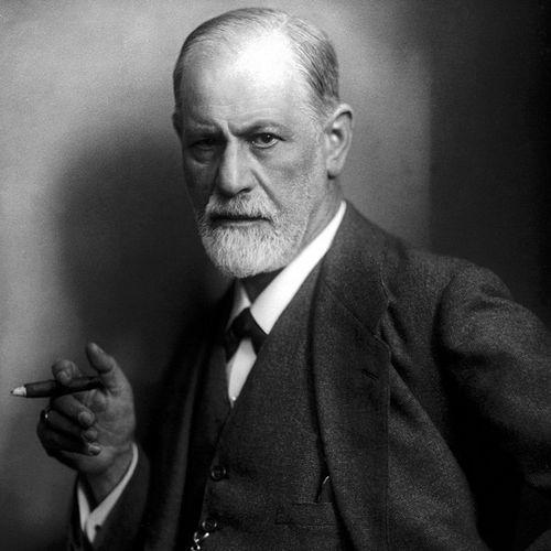 Zygmunt Freud na fotografii portretowej