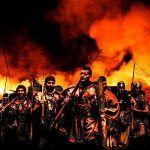 Od powietrza, głodu, ognia i rzymskich legionów wybaw nas Panie! (fot. Majster Clibanvs Paps, Legio XXI Rapax).
